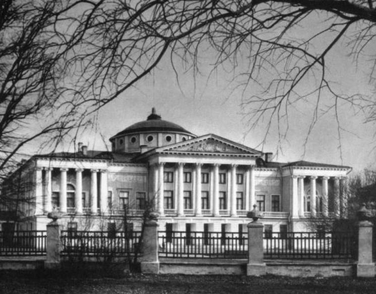 Дворец в Останкино, 1-я Останскинская ул., д.5.