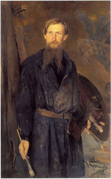 Portrait of w:Viktor Vasnetsov