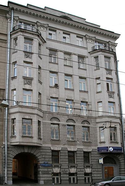 Собственный доходный дом Гельриха (Малая Дмитровка, 25), Moscow, Malaya Dmitrovka Street 25