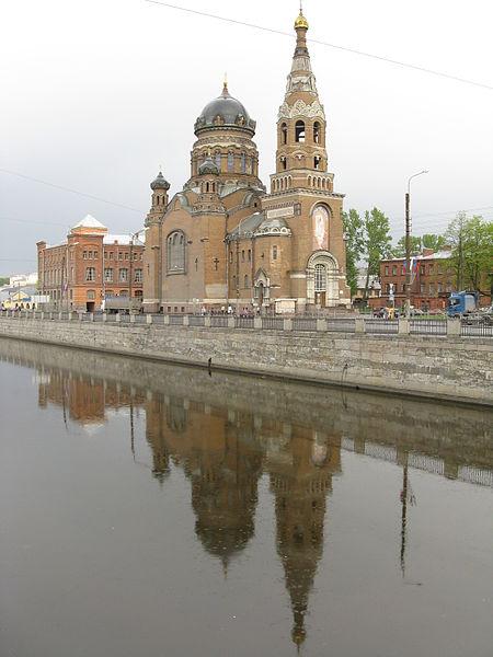 Храм Воскресения Христова у Варшавского вокзала, Church of Resurrection of Christ, near Warsaw Rail Terminal