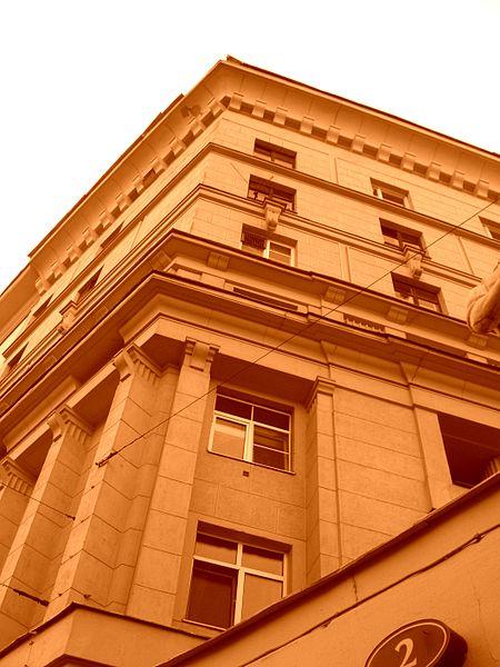 И.Голосов. Яузский бульвар - жилой дом. 1934-1936 гг