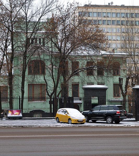 A. S. Grebenschikov. 1900s rebuild: S. F. Zimmerman, Проспект Мира, Москва. Особняк С. Ф. Циммерман