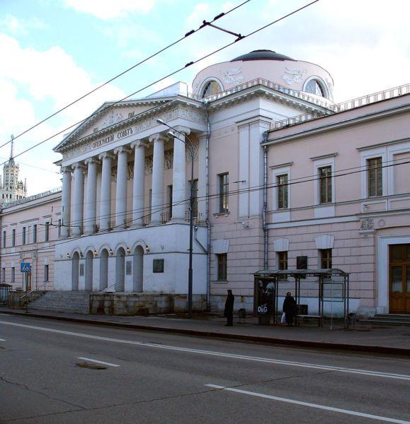 Опекунский совет на Солянке, Board of Trustees Building, Solyanka Street, Moscow by Domenico Gilardi and Afanasy Grigoriev