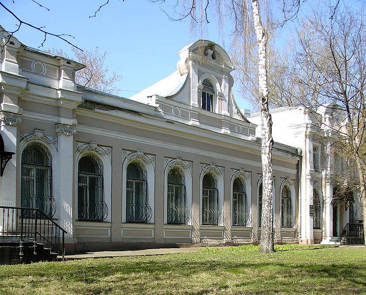 Покровский бульвар, 12, Moscow, Pokrosky Boulevard, 12