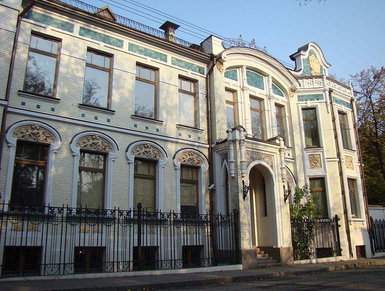 Особняк Н. Н. Медынцева в Померанцевом переулке (1907), Flegont Voskresenski residence of N. Medyntsev 1907, Moscow
