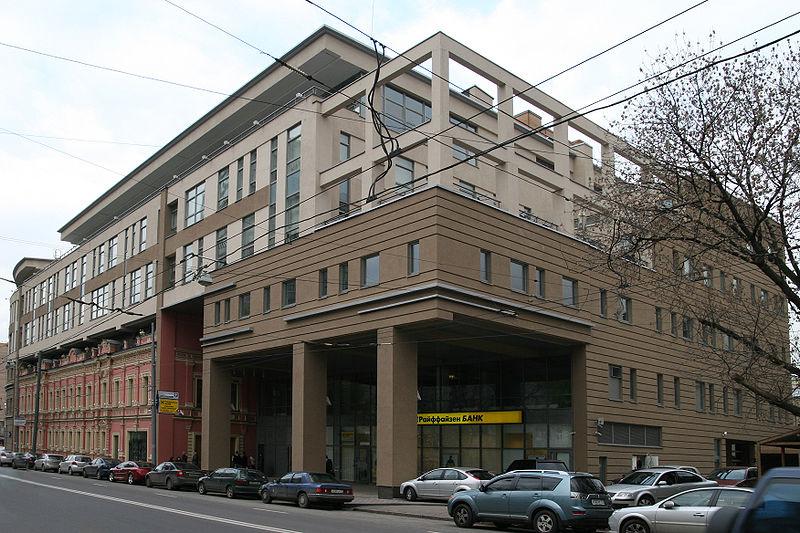 Moscow, Malaya Dmitrovka Street 20 Школа телевизионного мастерства В. В. Познера