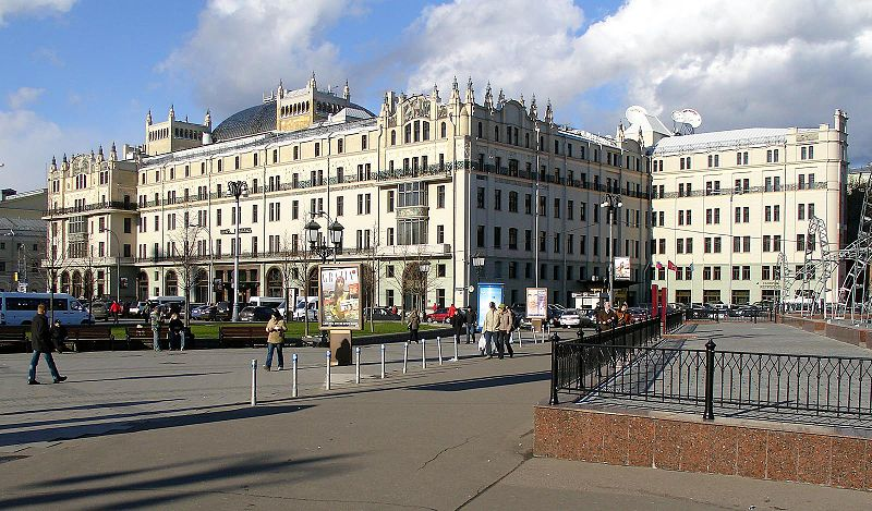 Hotel Metropol, Moscow, Russia, 1899-1907