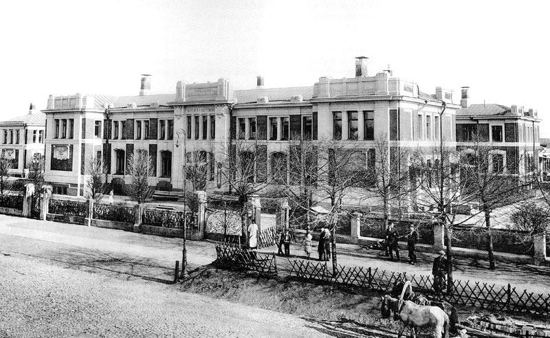 Морозовская больница в Москве, арх. Илларион Иванов-Шиц, 1900-1905. Morozov Hospital by Illarion Ivanov-Schitz, 1900-1905.