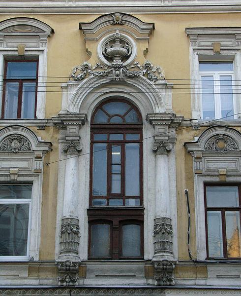Фасад дома на улице чаянова 10 10 chaplygina