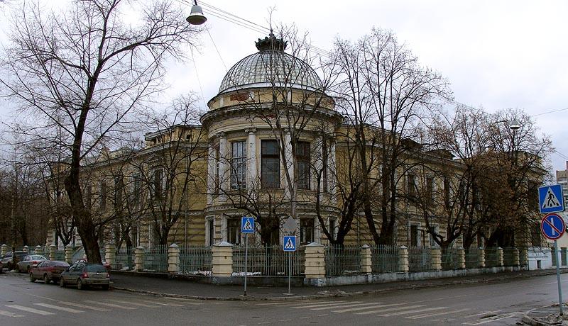 Клиника на Девичьем Поле, 1893. Devichye Pole, Moscow, Medical Campus - Clinics