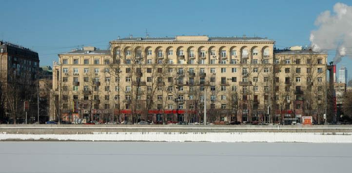 Москва, Фрунзенская набережная, дом 32 - архитектор Аркадий Григорьевич Мордвинов