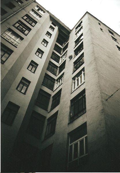 Москва, Большой Гнездниковский переулок, дом 10. Вид со двора - Эрнст-Рихард Карлович Нирнзее.