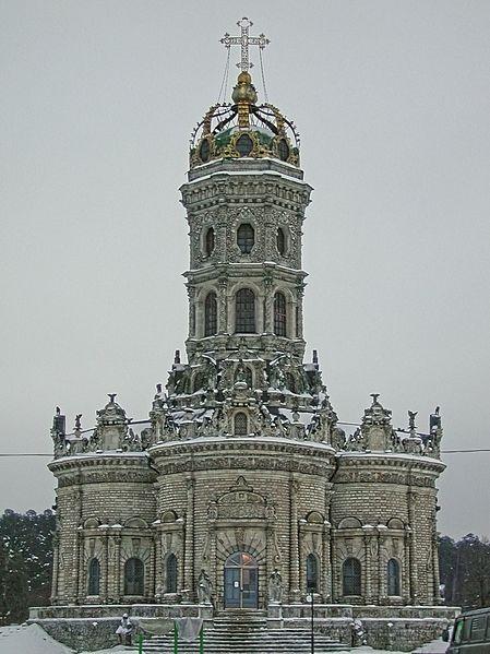 Церковь Знамения Пресвятой Богородицы в Дубровицах, построена в 1703 году - Фёдор Фёдорович Рихтер