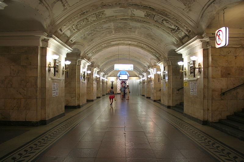 Станция Октябрьская-Кольцевая Московского метрополитена, Леонид Михайлович Поляков