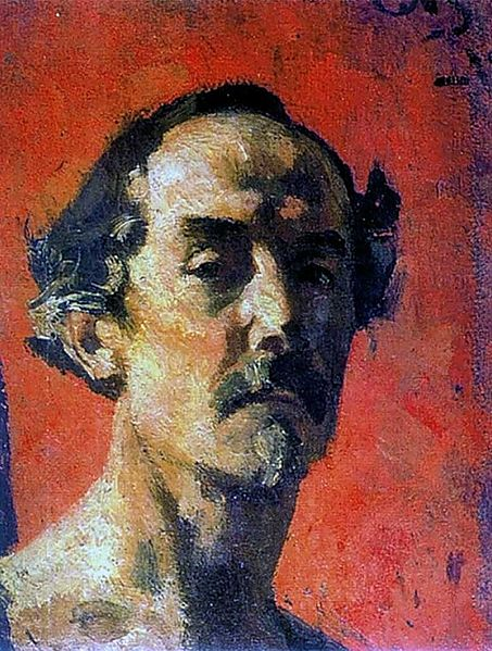 Малютин Сергей Васильевич. Автопортрет. 1918