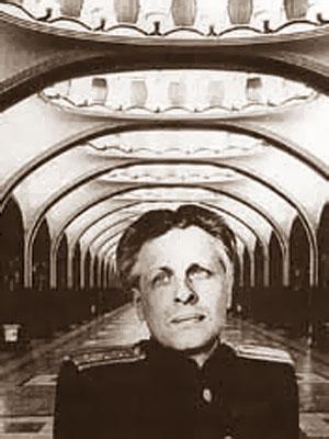 Алексей Николаевич Душкин (1903-1977) - советский архитектор. Dushkin Aleksey Nikolaevich (1903-1977), a Soviet architect. Corresponding Member of USSR Academy of Architecture (1950). Winner of three Stalin Prizes second degree (1941, 1946, 1949).