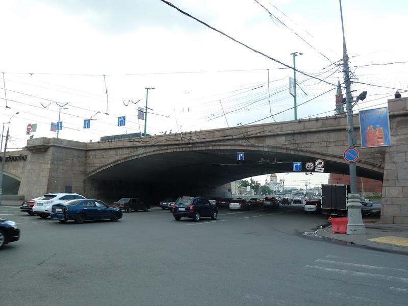 Большой Москворецкий мост, фото: 2011 г.