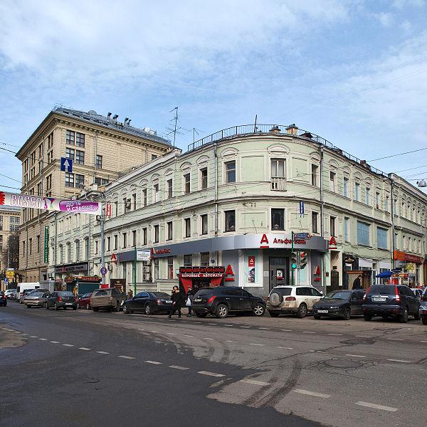 Москва, Неглинная улица. Neglinnaya Street, Moscow.