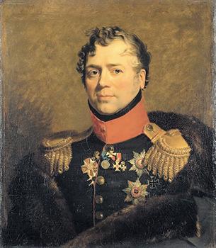 Дж.Доу. Портрет Д.В.Голицына. 1824. Государственный Эрмитаж, Санкт-Петербург