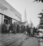 Кремль и Красная площадь - Вход в мавзолей.