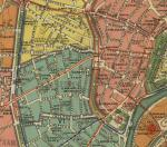 План города Москвы, 1910 г. - Район улицы Арбат