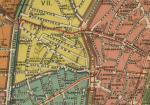 План города Москвы, 1910 г. - район Поварской и Никитской улиц