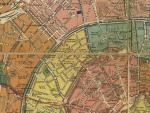 План города Москвы, 1910 г. - Район Тверской улицы