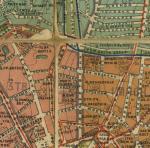 План города Москвы, 1910 г. - район улицы Рождественки