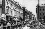 Советская архитектура, старые чб фото - Елисеевский магазин
