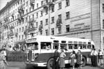 Улицы Москвы, старые фото - ЗИС-154 на улицах Москвы